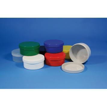 Kunststoff Runddose mit Drehverschluss