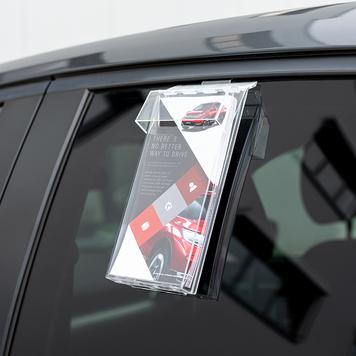 """Prospektspender """"Weser"""" für Autoscheiben"""